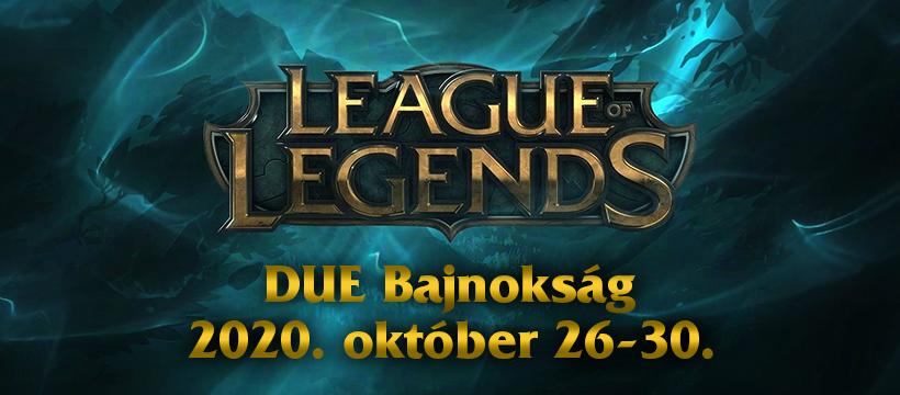 DUE – 2020 – League of Legends Bajnokság